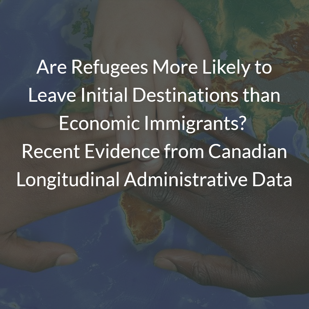 Are Refugees More Likely to Leave Initial Destinations than Economic Immigrants