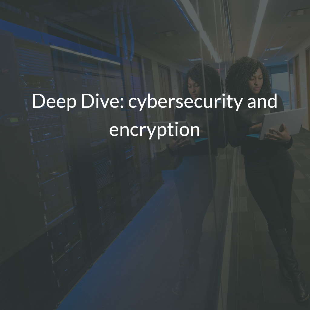 Deep Dive: cybersecurity and encryption