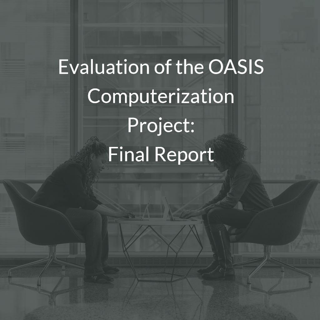 Evaluation of the OASIS Computerization Project