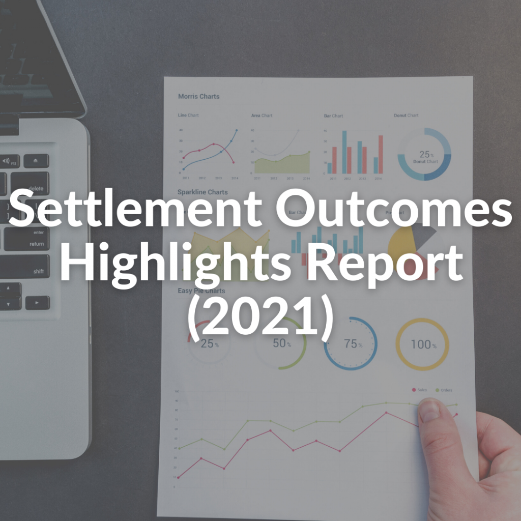 Settlement Outcomes Highlights Report (2021)