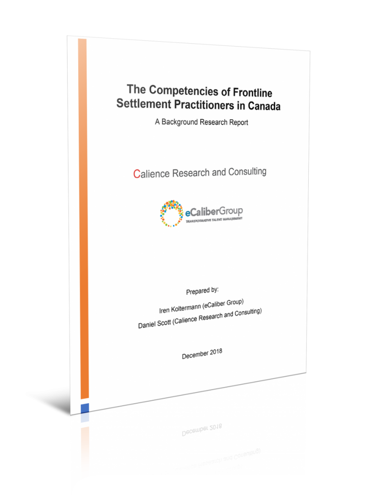 The Competencies of Frontline Settlement Practitioners in Canada