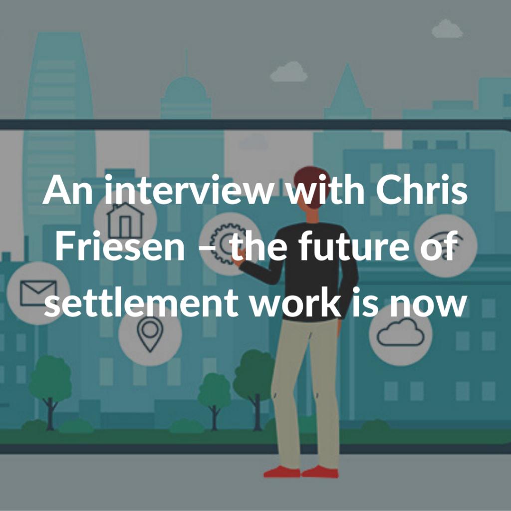 chris friesen interview