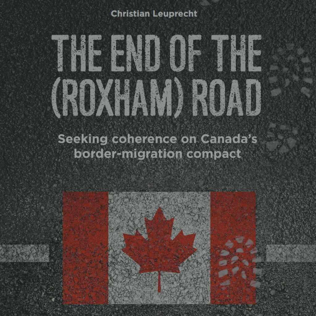The end of the (Roxham) road: Seeking coherence on Canada's border-migration compact